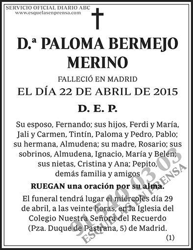 Paloma Bermejo Merino